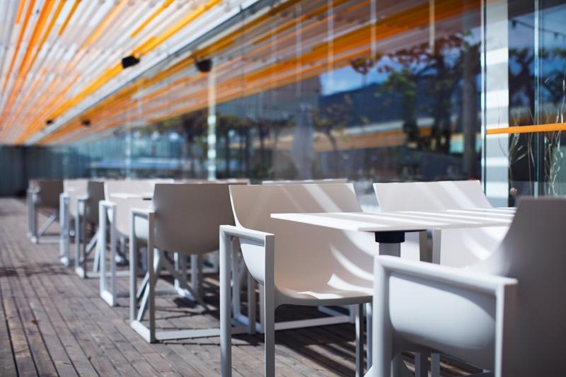 Wall Street Chair Design Outdoor Restaurant Armchair By Vondom