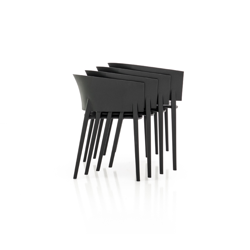 AFRICA Armchair Stackable Light Seat With Armrests By Vondom