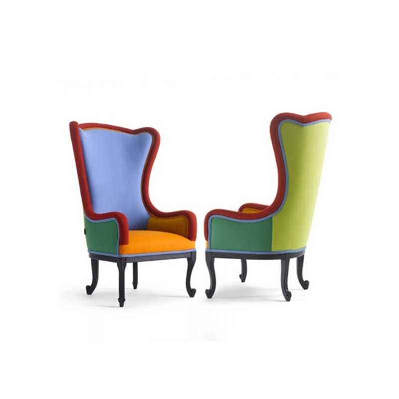 Lovely ALLEGRA Elegant Colorful Baroque Armchair