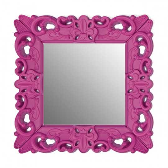 MIROR OF LOVE Matt- Baroque Miror Pop Colors Furniture with Matt Finish