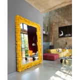 Mirror XL Lacquered Color Yellow Mirror of Love Slide Design