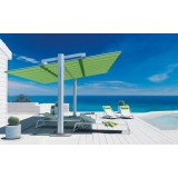 FLEXY LARGE Freestanding Umbrella with sliding canopy Ideal Poolside and Bar Restaurant Terrace