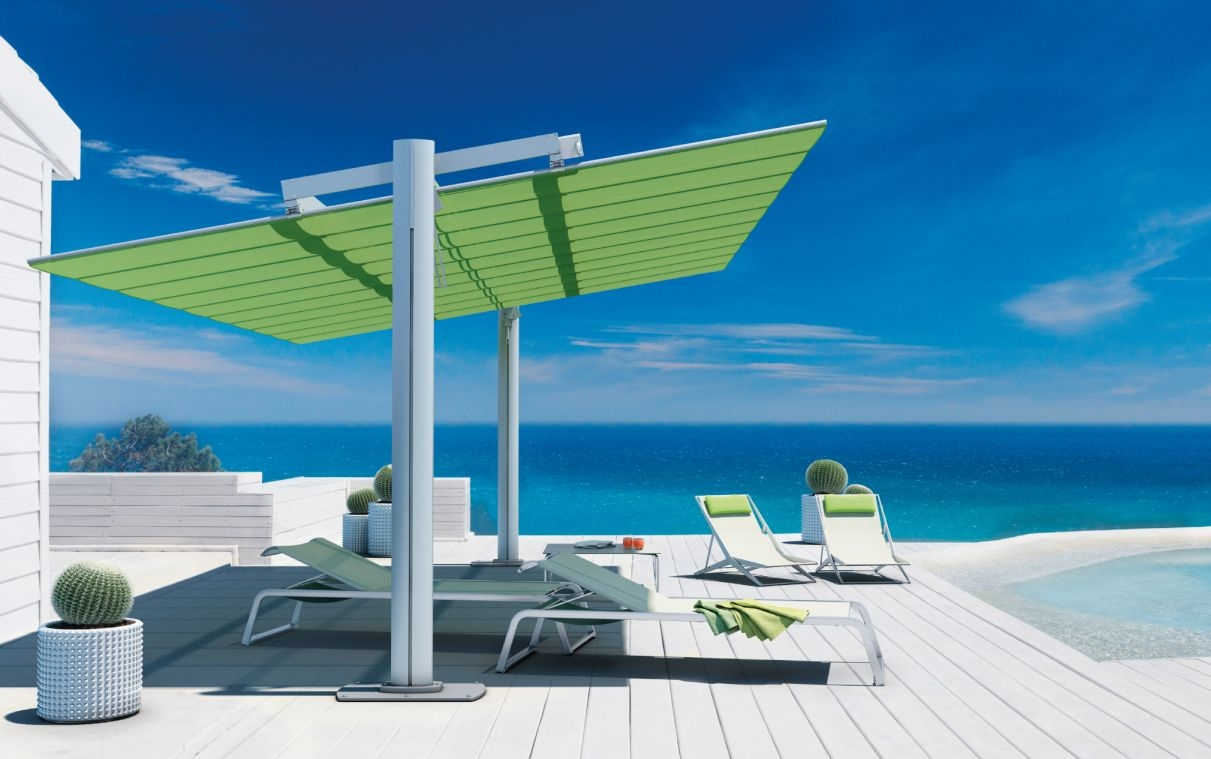 Flexy Large Freestanding Modular Shade System Made In Europe