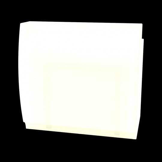 FIESTA 120 LED White Bright White Adjustable Bar Counter by Vondom