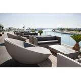 Giant Round Loveseat Bar Lounge Terrace Riverside