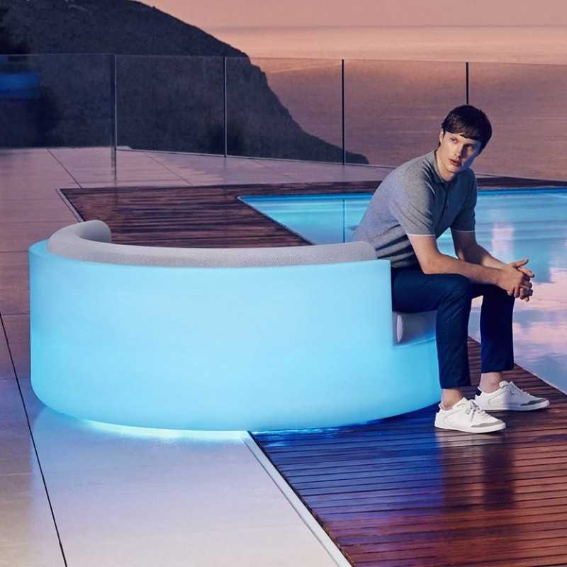 ULM DAYBED Sofa RGB LED Light - Vondom