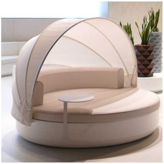 ULM DAYBED Sofa Parasol Laqué - Vondom