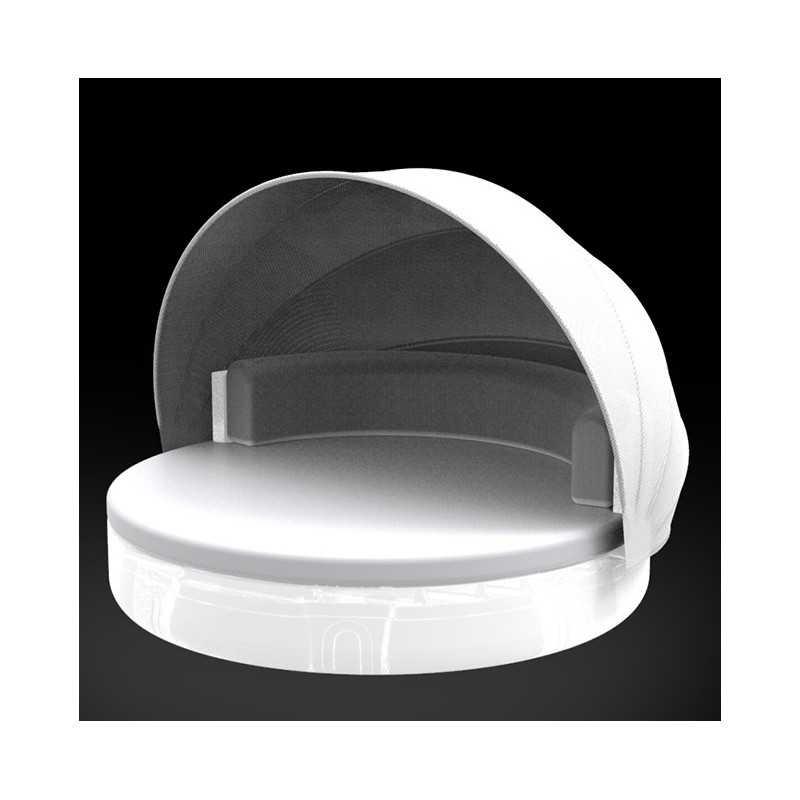 ULM DAYBED Sofa Parasol Lumineux Blanc - Vondom