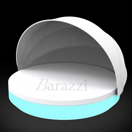 VELA DAYBED Round Parasol RGB LED Light - Vondom