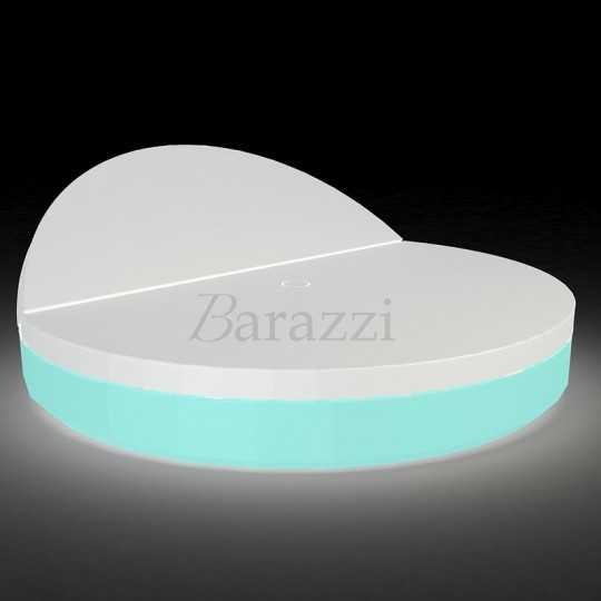 VELA DAYBED Round Reclining RGB LED Light - VONDOM