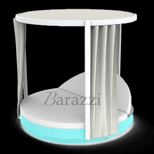 VELA DAYBED Round Reclining Canopy RGB LED Light - VONDOM