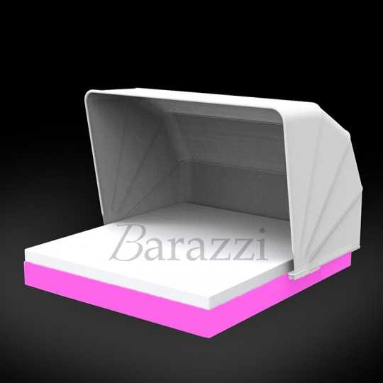 VELA DAYBED Square Parasol RGB LED Light - VONDOM
