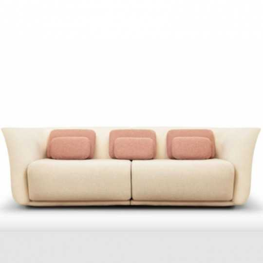 SUAVE SOFA Two Seater Outdoor Fabric Couch - VONDOM