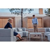 TABLET SOFA Modular Fabric Outdoor Chair by VONDOM