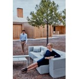 TABLET SOFA Modular Fabric Outdoor Couch by Ramon Esteve and VONDOM