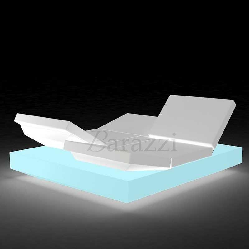 VELA DAYBED Square Reclining x4 RGB LED Light - VONDOM