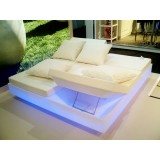 Light Up Vela Daybed with 4 Reclining Backrests RGB with Multicolor LED Light by Vondom