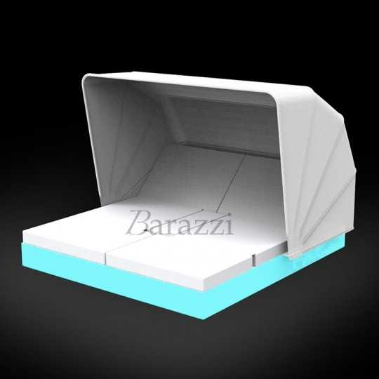VELA DAYBED RGB LED Light Square Reclining x4 Sunroof - VONDOM