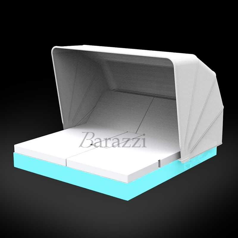 VELA DAYBED RGB LED Light Square Reclining x4 Sunroof - VONDOM