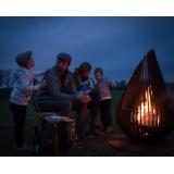 Outdoor Fireplace Dewdrop M Glowbus