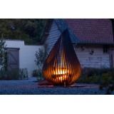 Jolie Exterieure Fireplace Dewdrop M Glowbus Garden