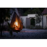 Jolie Exterieure Fireplace Dewdrop M Glowbus