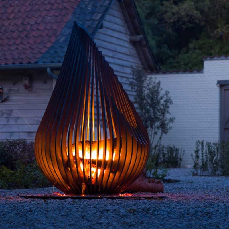 Brasero Exterieur Design Dewdrop L Glowbus