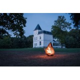 Outdoor Fireplace Dewdrop XL Glowbus Garden
