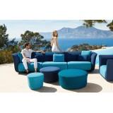 SUAVE Sofa Armless - Banquette Extérieure Tissu - VONDOM