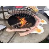Adjustable barbecue grill for VULX FUSION brazier