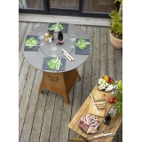 Modular fabric sofa for indoor or outdoor living room TABLET by Vondom