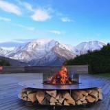ZERO 150 Black - Outdoor Fire Pit AK47