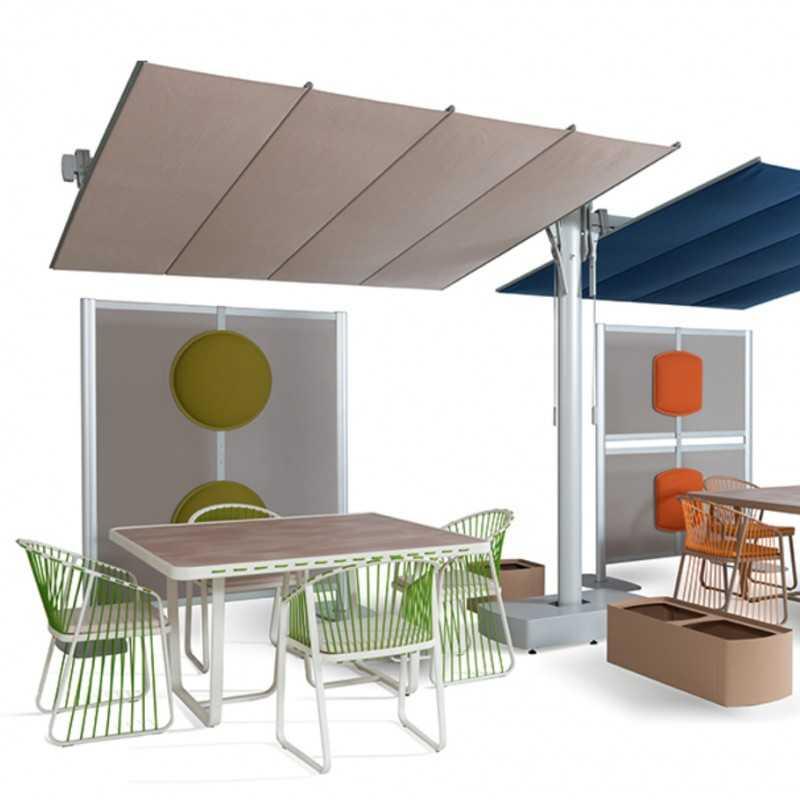 Patio Divider Wall 1 By FIM Umbrellas