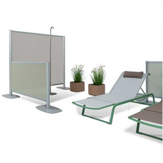 ZED 6 - Patio Divider Wall - FIM