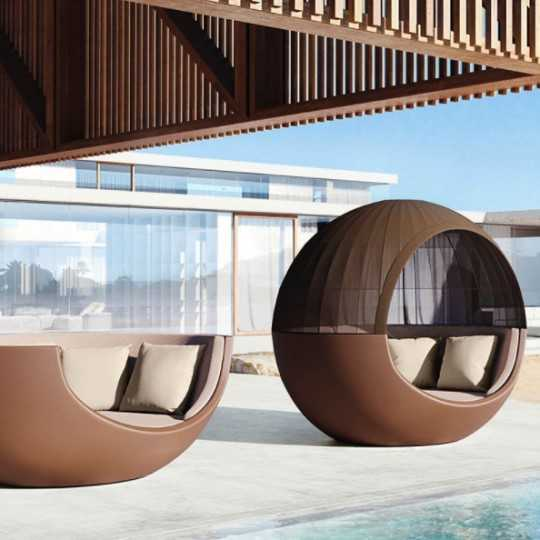 Round Lounge Chair For Two MOON DAYBED