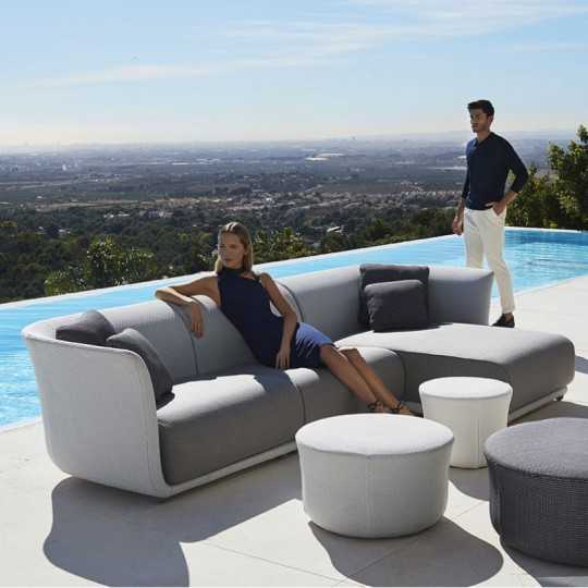 SUAVE Left Sofa - Outdoor Couch VONDOM