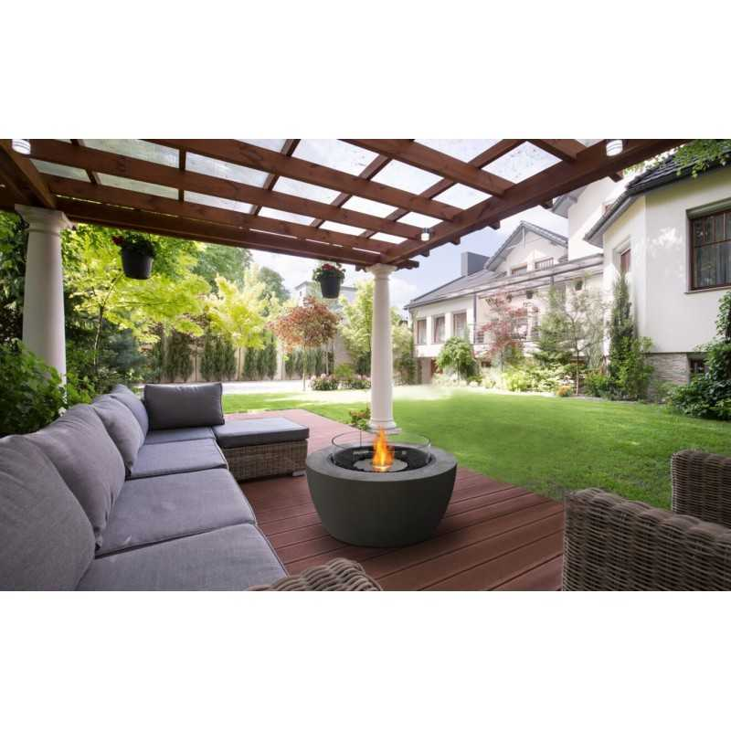 Pod 40 Ecosmart Fire Pit Bowl - Outdoor Indoor Fireplace