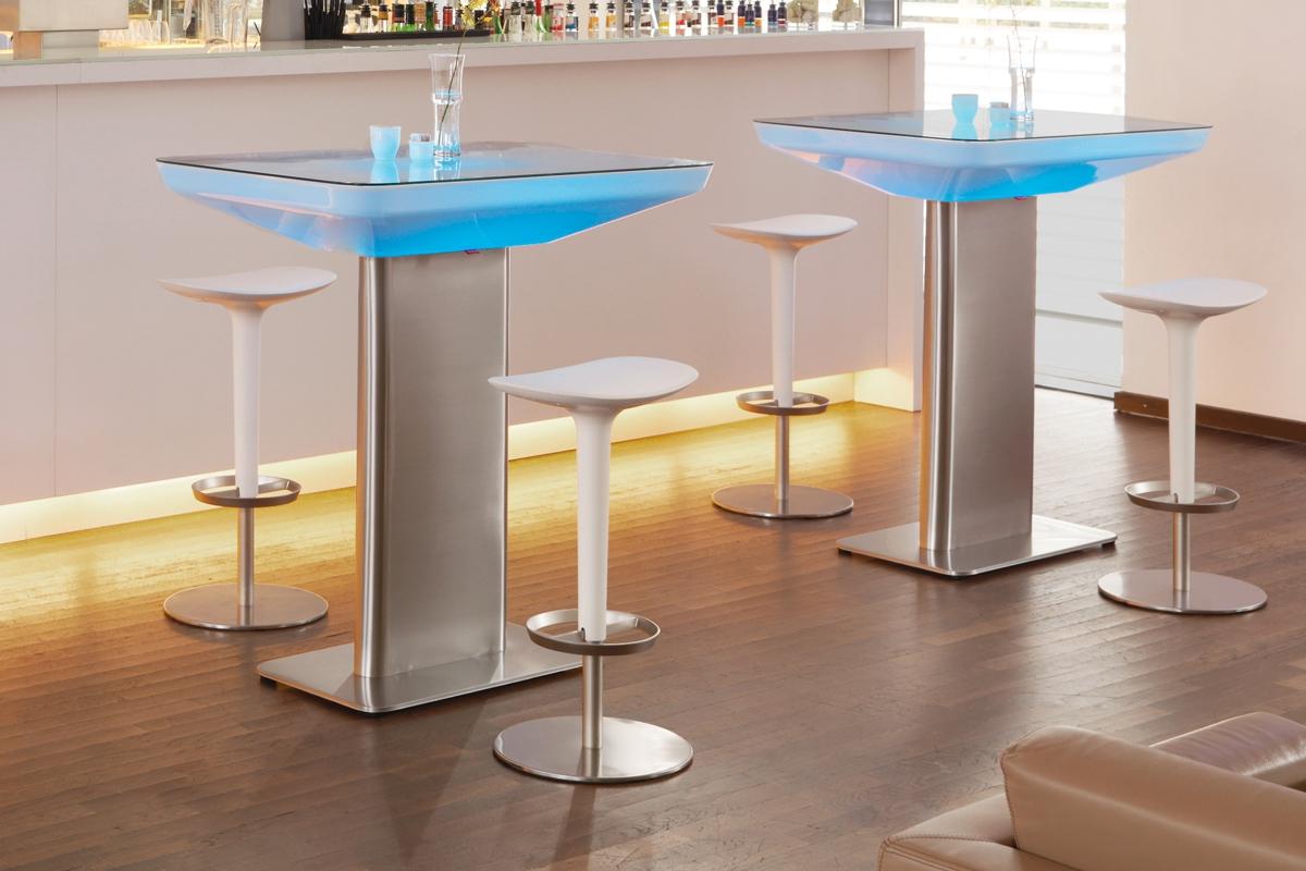 Light Up High Bar Table