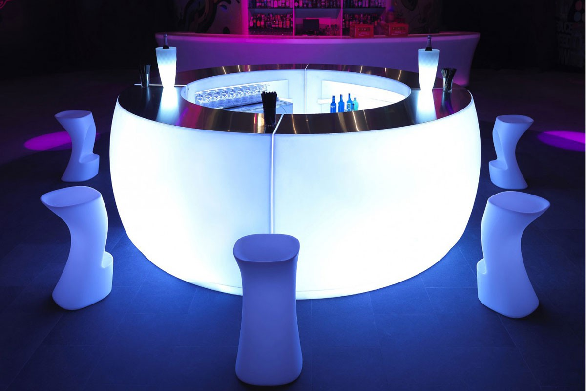 Light Up Bar For Architects Designers Events Bars