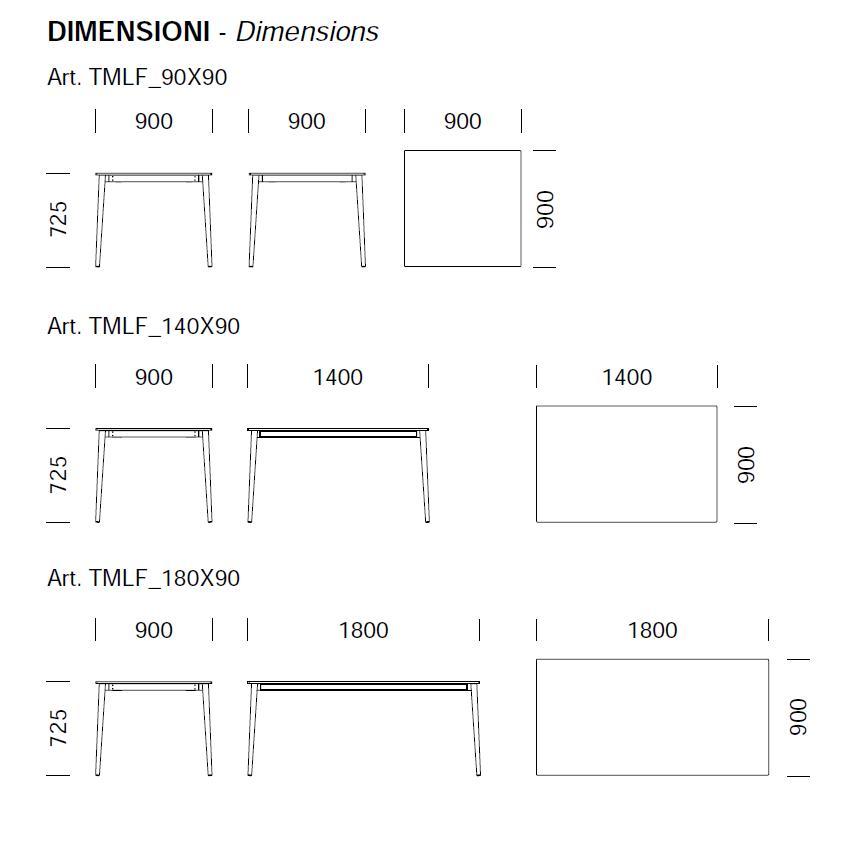 table pour bar et restaurant malmo pedrali. Black Bedroom Furniture Sets. Home Design Ideas