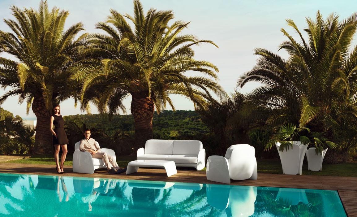 Collection meuble design Pezzettina Vondom, fauteuils pour bar et restaurant